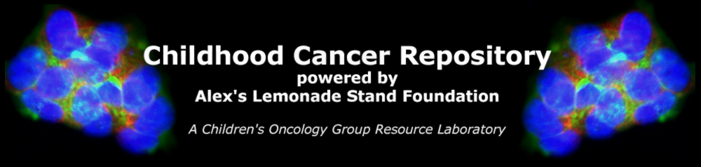 Children's Oncology Group (COG) Cell Culture and Xenograft Repository Logo
